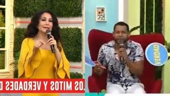 """Edson Dávila a Janet Barboza: """"Tantos años y no ha logrado ganarse el cariño del público"""". (Foto: Captura de video)"""