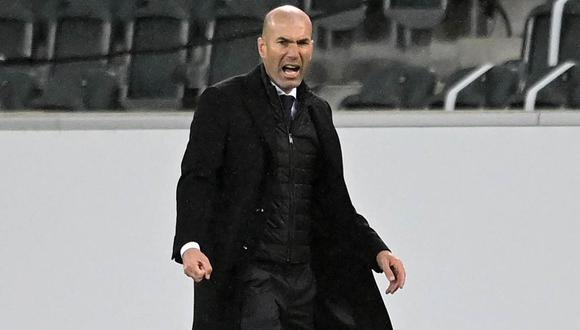 Zinedine Zidane dejó el Real Madrid en el 2018 luego de ganar su tercera Champions League consecutiva. (Foto: EFE)