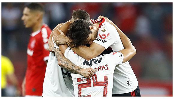 Con Paolo Guerrero: Inter empató 1-1 con Flamengo y quedó eliminado de la Copa Libertadores