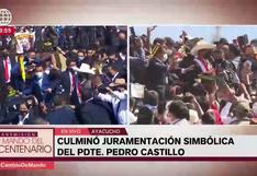 Evo Morales, expresidente de Bolivia, sufrió traspié en Ayacucho