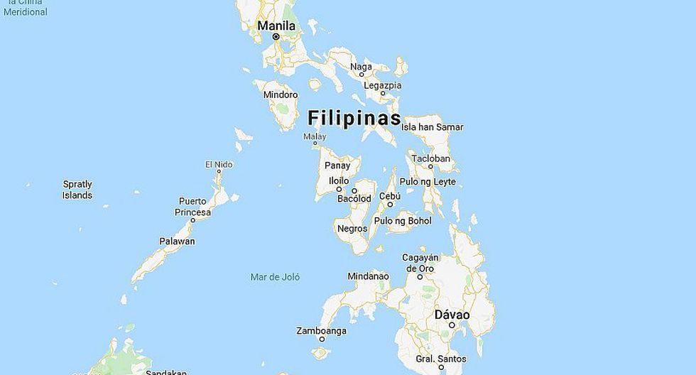Sismo de magnitud 6.2 sacudió el sur de Filipinas
