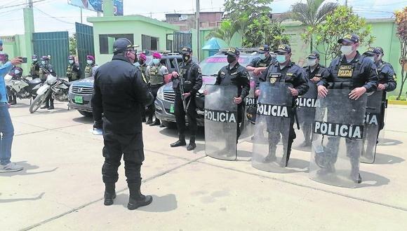 Un total de 1,147 agentes resguardarán el traslado del material electoral y los exteriores de los locales de votación.