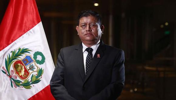 Walter Ayala precisó que la decisión sobre qué hacer con el cuerpo del terrorista es responsabilidad del Ministerio Público.  (Foto: Presidencia)