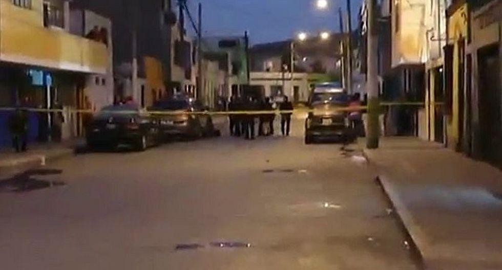 Balacera deja dos víctimas mortales en el Callao (VIDEO)