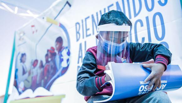 Escolares vuelven a las aulas en las zonas rurales de Arequipa| Minedu