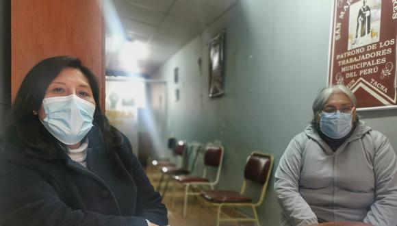 Dirigentes del Sitramun Tacna deploran anomalías en gestión edil. (Foto: Correo)