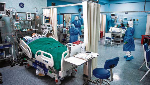 En las últimas semanas se ha reportado un incremento de pacientes hospitalizados por COVID-19. | Foto: Referencial