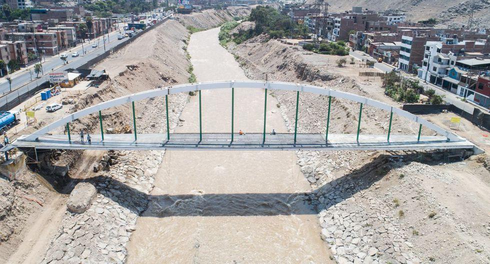 La construcción del puente del Malecón Checa demanda una inversión de más de 10 millones de soles. (Municipalidad de Lima)