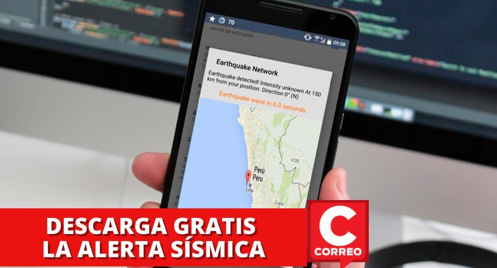 Descarga la aplicación móvil gratuita que te alerta segundos antes de un sismo o temblor