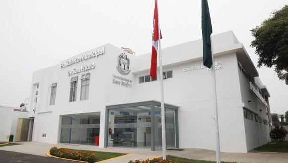 El Policlínico Municipal de San Isidro está ubicado en la calle Paul Harris N°205. (Foto: Municipalidad de San Isidro)