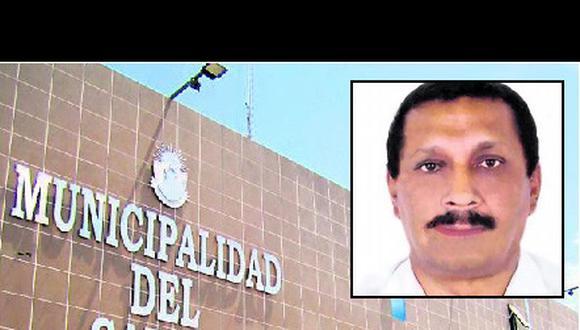 Miembro del clan Orellana en el municipio del Callao
