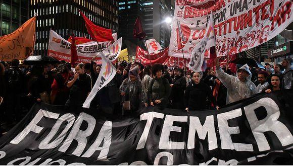 Brasil: Miles salen a las calles exigiendo la renuncia de Michel Temer