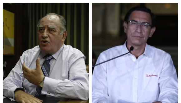 El nuevo premier aseguró que Vizcarra actuó de manera ilegítima. (Correo/GEC)