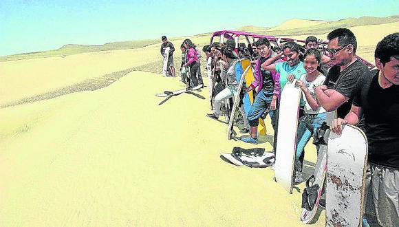Ica recibió más de 30 mil turistas por Semana Santa