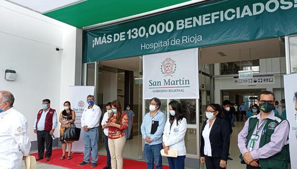 San Martín: nuevo Hospital de Rioja apoyará en la lucha contra el COVID-19 (Foto: Minsa)