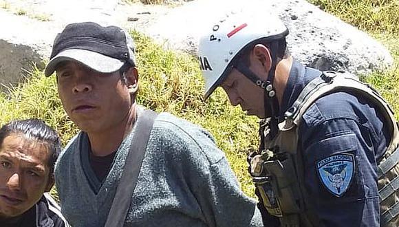 Policías capturan a investigado por violación sexual en Cayma