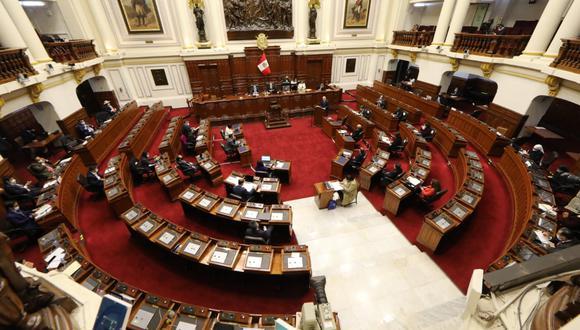 Diversos congresistas expresaron su posición tras la presentación de Pedro Cateriano. (Foto: Congreso)