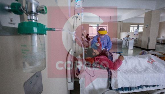 Infectados con coronavirus requieren oxígeno de alto flujo| Foto: Leonardo Cuito