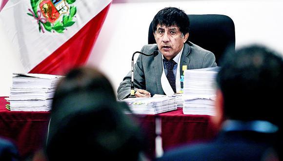 Rechazan recusación de Nadine para apartar del caso a juez Concepción