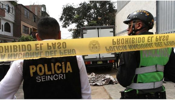 Dos sicarios asesinan a un empresario en San Juan de Lurigancho