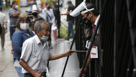 El Gobierno del Perú entregará un bono de 600 soles para afrontar la cuarentena. (Foto: Andrés Paredes / GEC)
