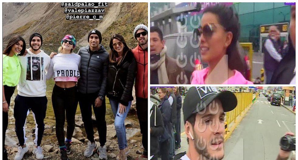 Mario Irivarren e Ivana Yturbe viajan juntos a Cusco, pero llegan a Lima y se van por separado (VIDEO)