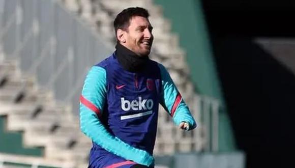 Lionel Messi termina contrato con Barcelona a mediados del 2021. (Foto: AFP)