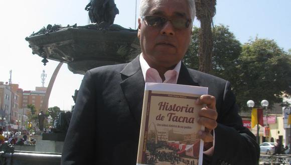 Libro señala que nombre de Tacna tiene origen puquina y no aimara
