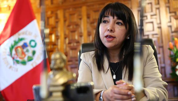 Mirtha Vásquez afirmó que la mayoría de bancadas no respaldan los intentos de remover a la Mesa Directiva que encabeza. (Foto: GEC)