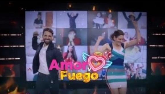 """Rodrigo González y Gigi Mitre anuncia fecha y hora de estreno de """"Amor y Fuego"""". (Foto: @rodgonzalezl)"""