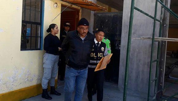 Huaraz: Intervienen a agente del INPE cuando hacía pasar dos celulares a penal