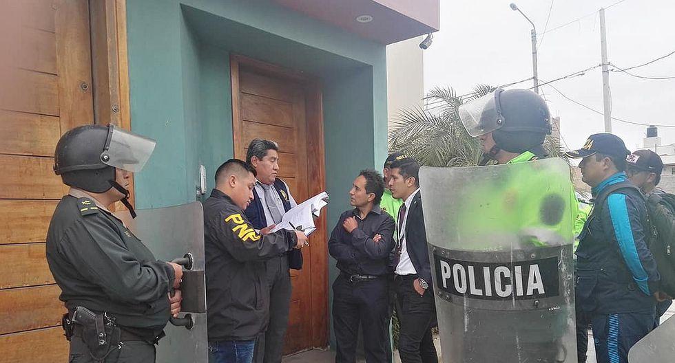 Incautan siete casas vinculadas a alcalde Valentín Fernández (FOTOS)