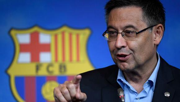 La moción de censura contra Josep Maria Bartomeu era inminente. (Foto: AFP)