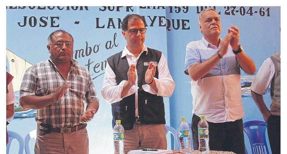 Ministro de Energía y Minas instalará mesa de trabajo con pescadores y el Ejecutivo