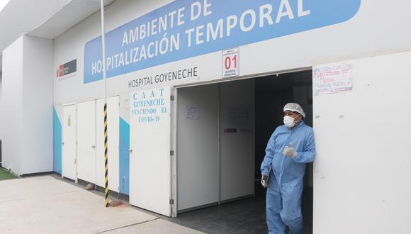 Pacientes llegan al hospital Goyeneche con síntomas de coronavirus| Foto: Eduardo Barreda