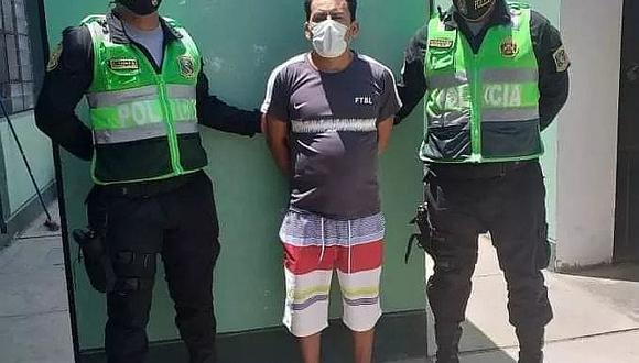 Policía detiene a dos por presunto abuso sexual en Ica y Chincha