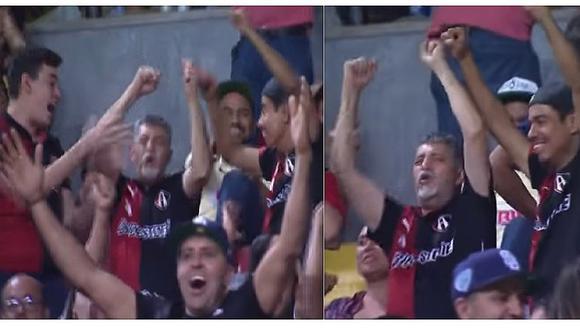 Conmovedor video de nieto festejando gol con su abuelo invidente se viraliza