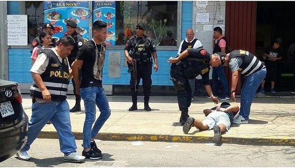 Cae banda que asaltó agencia de Scotiabank en La Victoria (VIDEO)