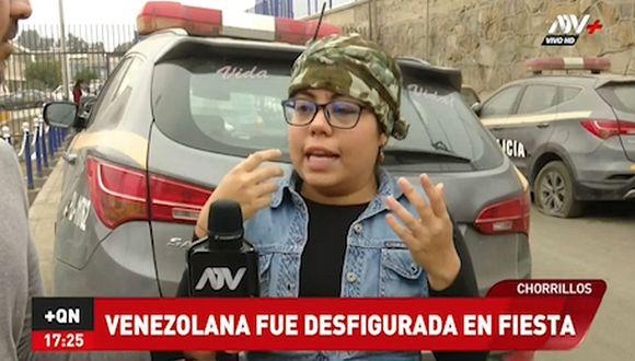 Desfiguran a venezolana con un pedazo de vaso en Chorrillos (VIDEO)