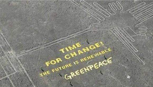 Líneas de Nasca: PJ desestima pedido de prisión preventiva contra Greenpeace