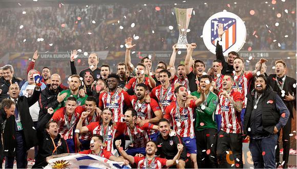 Atlético de Madrid es el campeón de la Europa League (VIDEOS)