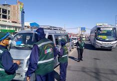 Sutran continuará con labores de fiscalización en carreteras a fin de evitar el transporte informal