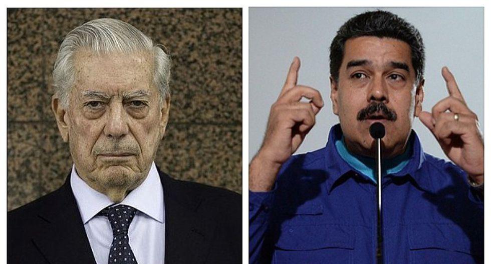 Mario Vargas Llosa calificó de dictador mediocre a Nicolás Maduro
