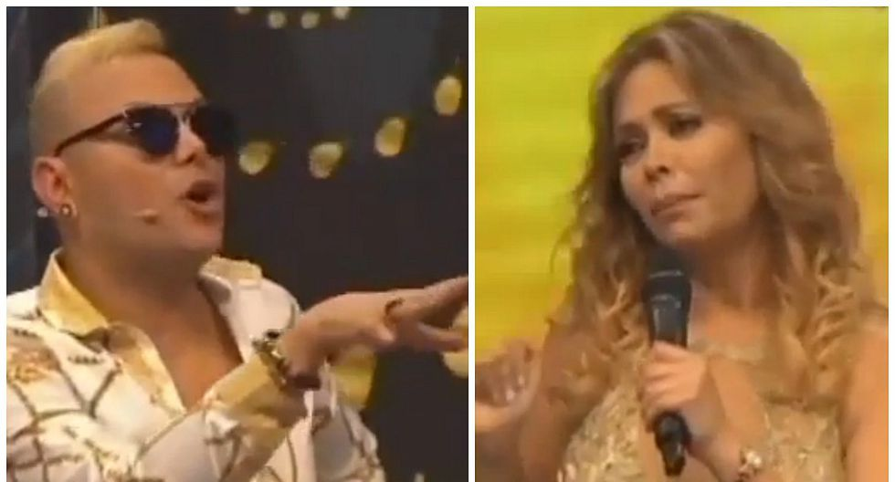 Gisela Valcárcel y Carlos Cacho tuvieron tremenda pelea en vivo por Belén Estévez [VIDEO]