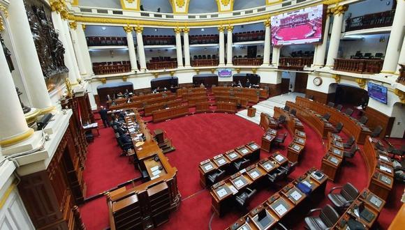 Pleno del Congreso aprobó modificar el número de integrantes de Comisión de Ética. (Foto: Congreso/Facebook)