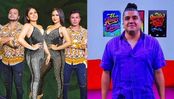 Mauricio Mesones, exintegrante de Bareto, se une a concierto virtual de Explosión de Iquitos. (Foto: Composición/Instagram)