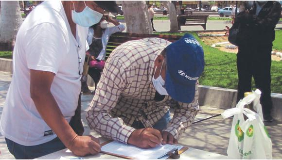 En la provincia del Santa se busca cambiar a los burgomaestres de Nepeña y Macate.