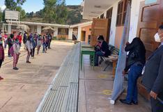 En Huambalpa inician clases semi presenciales