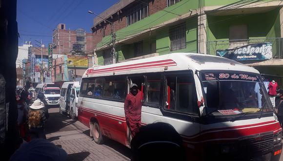 Precio de pasaje del transporte urbano bajó a un sol en Juliaca