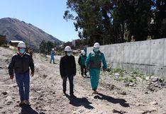 Huancavelica: Reiniciarán obra de construcción de defensa ribereña del río Sicra